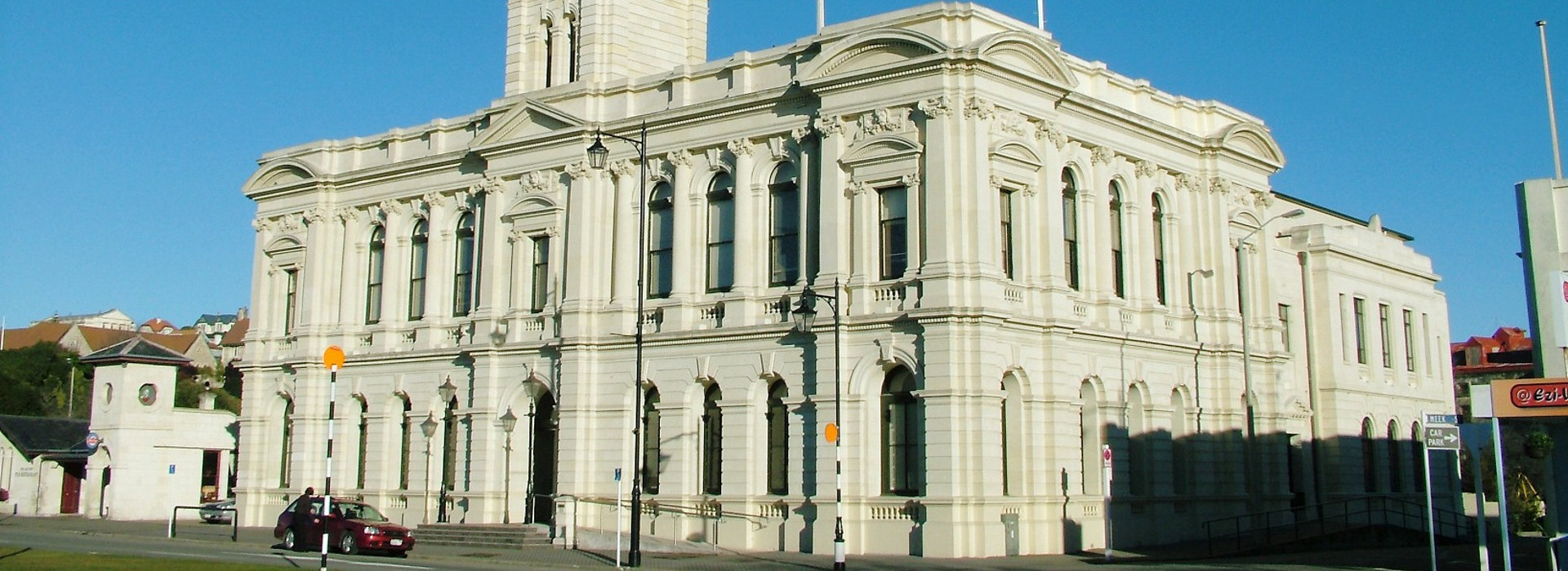 Exterior painting maintenance contract of council building in Otago