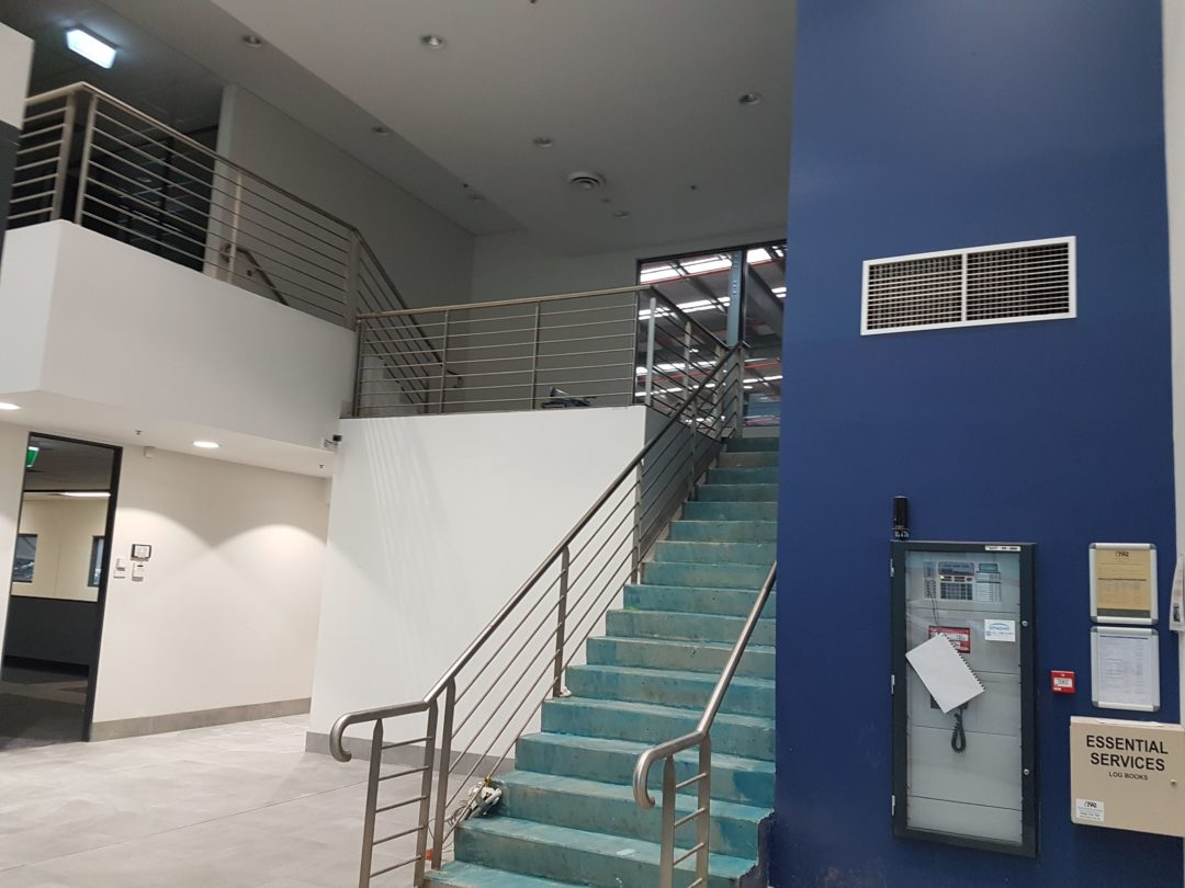 Interior repaint of offices in Somerton VIC