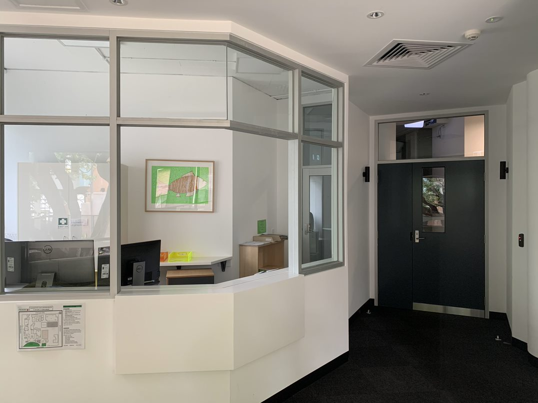 Internal painting project for MLC Woodgate Building in Kew